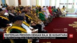 VIDEO: 'Bisikan' Raja dan Sultan di Indonesia kepada Jokowi