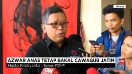VIDEO: PDIP Yakin Azwar Anas Tetap Maju di Pilgub Jatim
