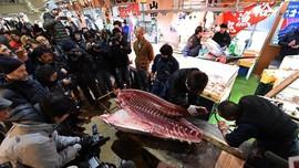 Pengganti Pasar Ikan Tsukiji Resmi Dibuka