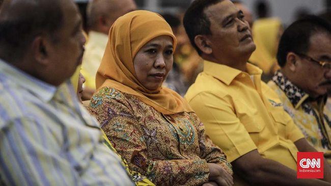 Tiba di Jakarta, Jokowi Segera Tentukan Nasib Khofifah