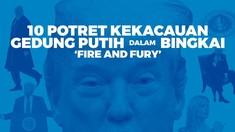 INFOGRAFIS: Fire and Fury, Buku Kontroversial soal Trump