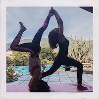 Dalam beberapa unggahan foto di Instagram, Vanessa menunjukkan ia rajin olahraga bersama teman. (Foto: Instagram/vanessaangelofficial)