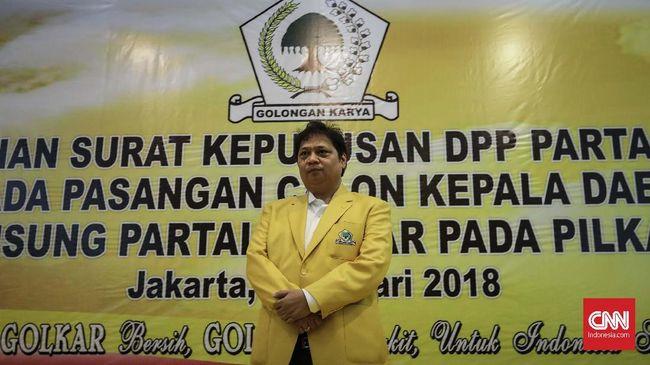 Fraksi Golkar Rapat Bahas Ketua DPR Pengganti Setnov Besok