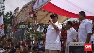 <i>All Out</i> Menangkan Gus Ipul-Puti, Prabowo Jadi Jurkam