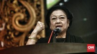 PDIP Nomor Tiga, Megawati Ciptakan Slogan 'Banteng Metal'