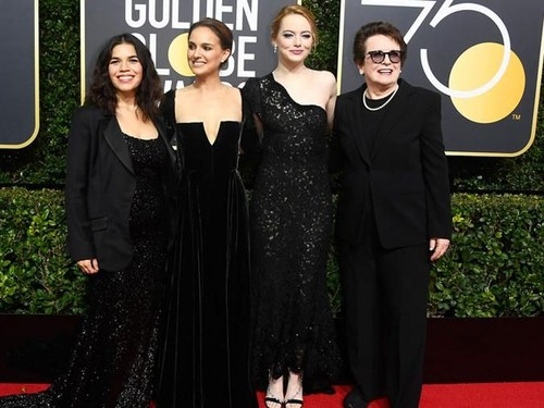 Intip Persiapan Gal Gadot Hingga Kelly Clarkson Datang ke Golden Globes 2018