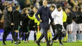 Zidane Tegaskan Takkan Mundur dari Real Madrid