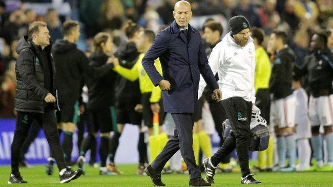 Zidane: Kami Tidak Memikirkan Liga
