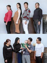 Kisah Guoliang dan ayahnya membuat anggota keluarga yang lain mengikuti jejak mereka. (Foto: Instagram/xyjesse)