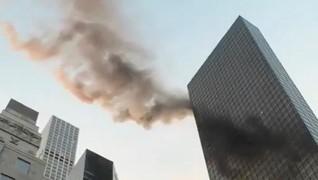 Gedung Trump Tower Kebakaran
