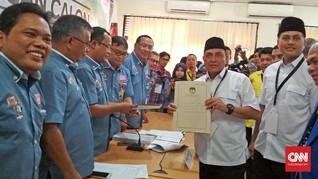 Edy Rahmayadi Sertakan Surat Pemberhentian TNI ke KPU Sumut