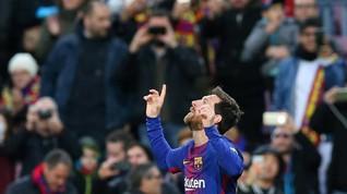 Lionel Messi Lebih Tajam dari Kuartet Real Madrid di La Liga