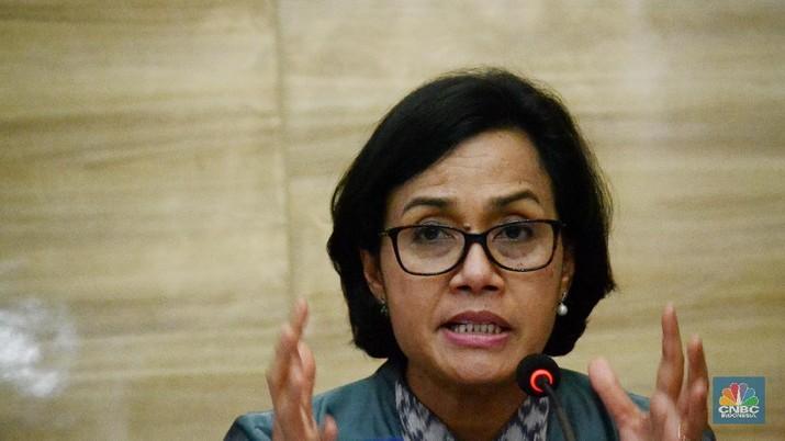 Menteri Keuangan Sri Mulyani Indrawati memberikan pesan secara khusus kepada seluruh jajaran Kementerian Keuangan (Kemenkeu)
