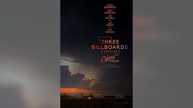 'Three Billboards' Raih Film Drama Terbaik Golden Globes 2018
