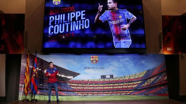 Coutinho Girang Satu Tim dengan Para Legenda