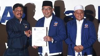 Ridwan Kamil Ikut Bantah Isu Mahar Prabowo dan Gerindra
