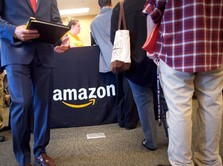 Amazon Hampir Kalahkan Microsoft di Bursa Saham AS