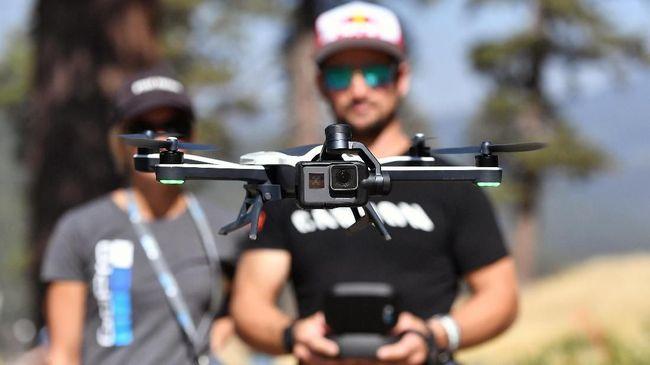 Denda Rp1,5 M Mengintai Penerbang Drone Tanpa Izin