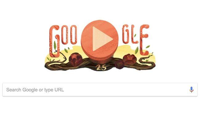 Google Doodle Rayakan 25 Tahun Rafflesia arnoldii