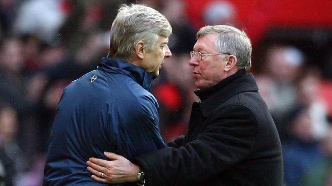 MU vs Arsenal: Pernah Sengit di Era Ferguson dan Wenger