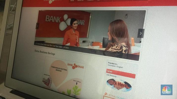 Ketiga bank tersebut adalah PT Bank Artos Indonesia Tbk, PT Bank of India Indonesia Tbk dan PT Bank Harda International Tbk.