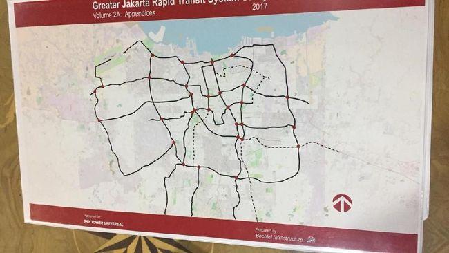 ARTI Ratu Prabu Gandeng Tiga Perusahaan Garap LRT
