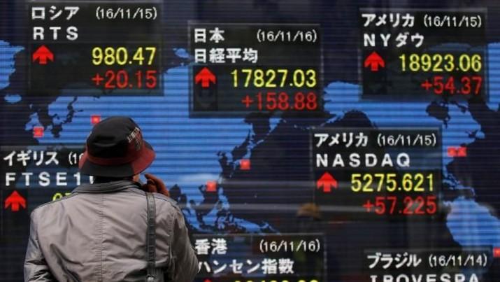 Pialan di pasar saham Asai