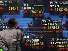 Sempat Berayun-ayun, Bursa Asia Akhirnya Ditutup Menghijau