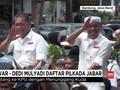 VIDEO: Deddy Mizwar-Dedi Mulyadi Naik Kuda saat Daftar KPU