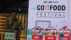 GoFood Festival Masuk MURI, Pujasera Terbesar di Indonesia