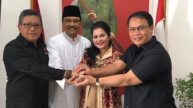 PDIP Usung Puti Guntur Soekarno Dampingi Gus Ipul di Jatim