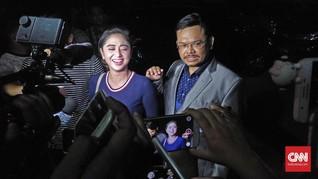 Dewi Perssik Diperiksa Polisi Kasus Terobos Busway