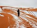 VIDEO: Salju Kembali Turun di Gurun Sahara