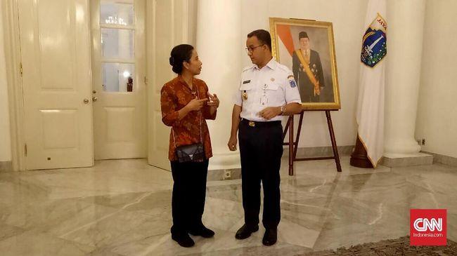 Diplomasi Jalan Kaki, Rini dan Anies Bahas Proyek TOD Jakarta
