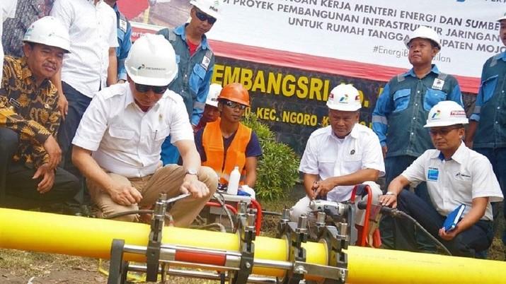 Pertamina memastikan semburan gas bukan karena kebocoran pipa maupun aktivitas sumur