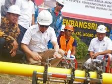 Pertamina Pastikan Semburan Gas Indramayu Bukan Kebocoran