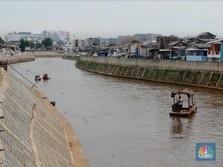 Banyak Proyek Anti-Banjir Jakarta Mentok di Lahan, Kok Bisa?