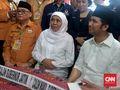 Khofifah-Emil Janji Lanjutkan Program Pakde Karwo di Jatim