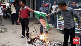 Tolak Usung Sihar, Kader PPP Sumut Bakar Foto Romahurmuziy