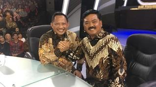 Kicauan Netizen soal 'Kemesraan' Polri-TNI di Mata Najwa