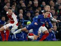 FOTO: Chelsea vs Arsenal Sama Kuat
