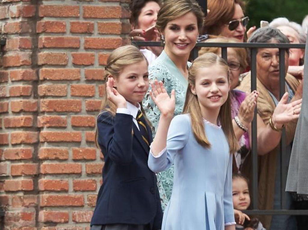 Foto: Cantiknya Dua Putri Spanyol, Anak Raja Felipe VI dan Ratu Letizia