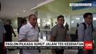 Pasangan Calon Kepala Daerah Sumatera Utara Jalani Pemeriksaa