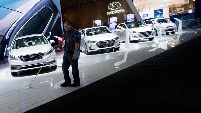 Hyundai dan Kia 'Dihantui' Perang Dagang Trump