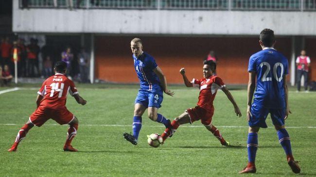 Timnas Indonesia Diminta Islandia Beri Perlawanan Sengit