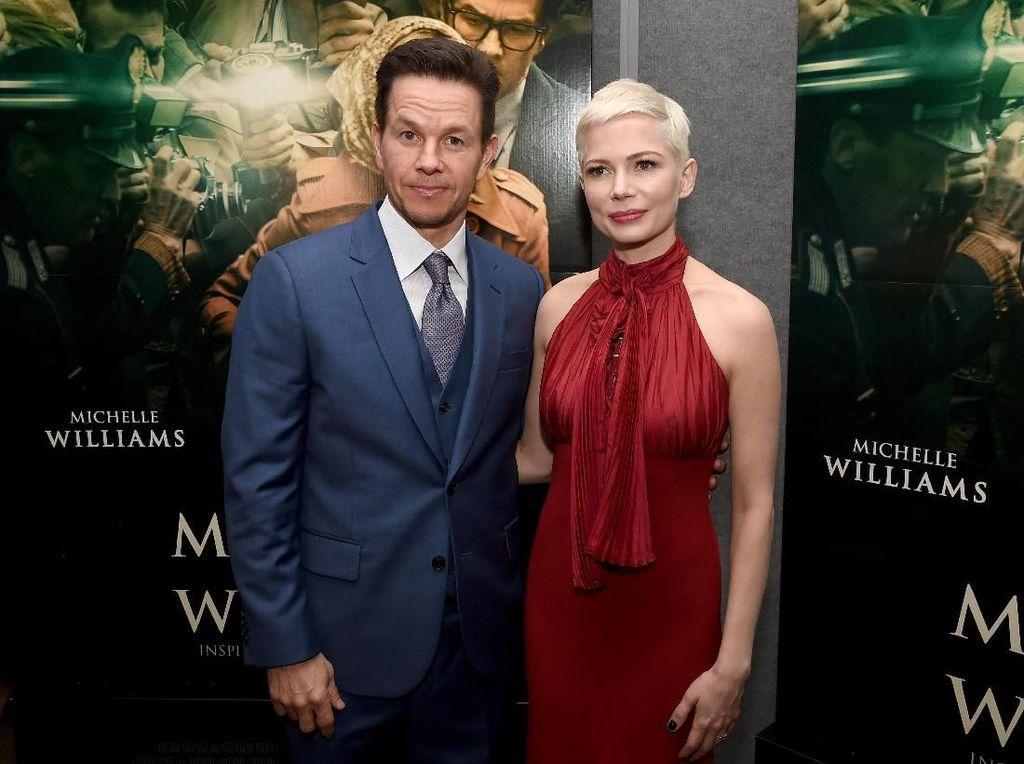 Miris, Bayaran Michelle Williams Hanya 1% dari Gaji Mark Wahlberg