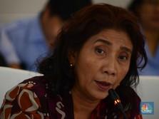 Menteri Susi Tertawa Geli Tonton Video Demo Cantrang Kemarin