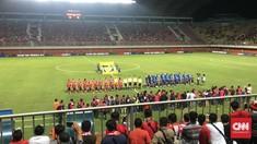 Indonesia Selection Tertinggal 0-1 dari Islandia di Babak I