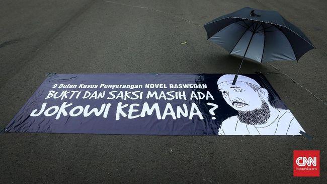 ICW Ragukan Komitmen Polisi Ungkap Kasus Novel Baswedan