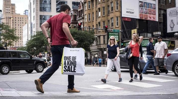 Kenaikan Penjualan Ritel AS Agustus Terlambat Dalam 6 Bulan